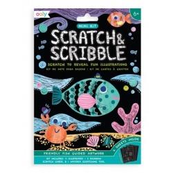 RYBKI mini zdrapywanka Scratch & Scribble
