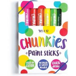 FARBKI W KREDCE zestaw 12 szt. Chunkies Paint Sticks