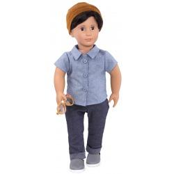 FRANCO duża lalka 46 cm chłopiec