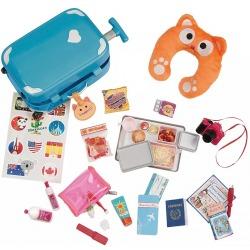 ZESTAW PODRÓŻNY akcesoria dla lalki 46 cm Well traveled luggage set