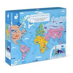 CUDA ŚWIATA puzzle tekturowe z figurkami 3D 350 el.