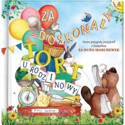 ZA DOSKONAŁY TORT URODZINOWY książka dla dzieci Katy Hudson