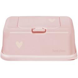 RÓŻOWY POJEMNIK na chusteczki Pink Little Heart