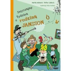 ZWYCZAJNY TYDZIEŃ Z RODZINĄ JANSSONÓW książka Martin Widmark