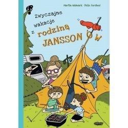 ZWYCZAJNE WAKACJE Z RODZINĄ JANSSONÓW książka Martin Widmark