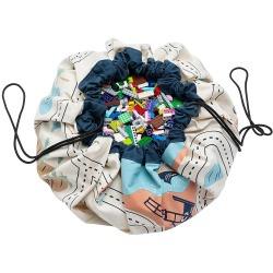 MAPA LOS ANGELES/VANY dwustronny worek na zabawki