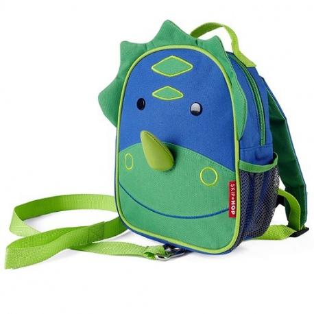 DINOZAUR plecak ze smyczą Baby Zoo