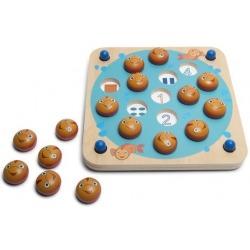 MEMO drewniana gra edukacyjna