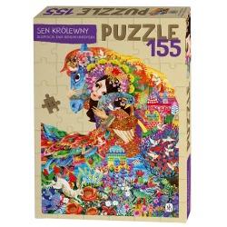 SEN KRÓLEWNY puzzle tekturowe 155 el. Ewa Beniak-Haremska