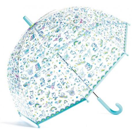 JEDNOROŻCE kolorowa parasolka