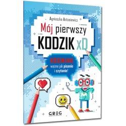 MÓJ PIERWSZY KODZIK książka Agnieszka Antosiewicz