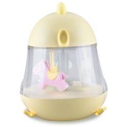 KURCZACZEK lampka z pozytywką żółta