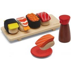 DREWNIANY ZESTAW sushi zabawa w gotowanie