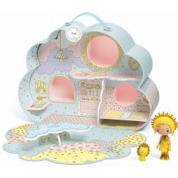 SUNNY & MIA domek walizka w kształcie chmurki