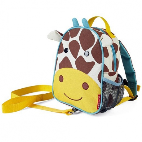 ŻYRAFA plecak ze smyczą Baby Zoo