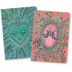 LOVE AURELIA notes zestaw 2 szt. w linie i gładki Lovely Paper