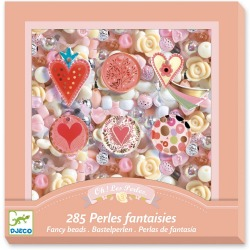 SERDUSZKA perełki koraliki zestaw do tworzenia biżuterii 285 el.