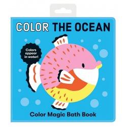 KOLORY OCEANU magiczna książeczka do kąpieli