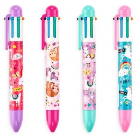 FANTASTYCZNI PRZYJACIELE długopis mechaniczny 6w1
