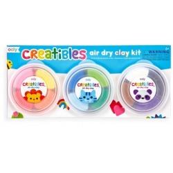 LEKKOLINA 12 kolorów z narzędziami Creatibles Air Dry Clay Kit