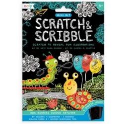 OWADY mini zdrapywanka Scratch & Scribble
