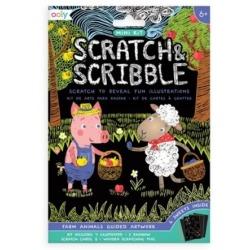 FARMA mini zdrapywanka Scratch & Scribble