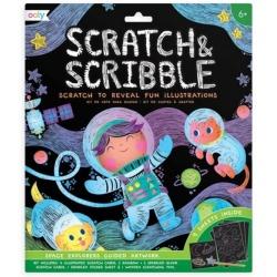 ODKRYWCY KOSMOSU zdrapywanka Scratch & Scribble