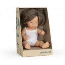 EUROPEJKA lalka dziewczynka Zespół Downa 38 cm