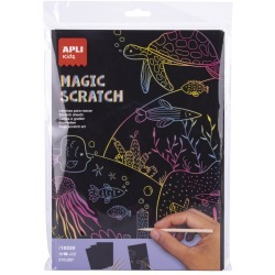 MAGIC SCRATCH zestaw zdrapywanek