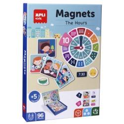 GODZINY magnetyczna układanka