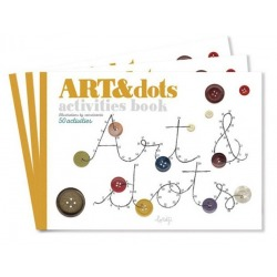 ART&DOTS zeszyt kreatywny połącz kropki