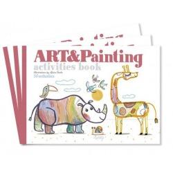 ART&PAINTING zeszyt kreatywny do malowania