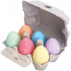 KOLOROWA KREDA jajka w wytłaczance 6 szt.