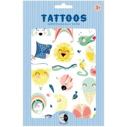 JUNGLE SHINY LION tatuaże świecące w ciemności zestaw