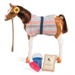 PINTO PASO FINO źrebak koń 30 cm dla lalki