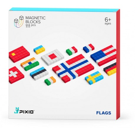 FLAGS klocki magnetyczne 111 szt. Story Series