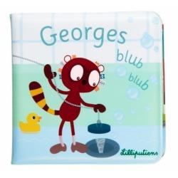 OUTLET - LEMUR GEORGE książeczka do kąpieli