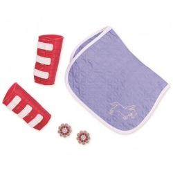 OCIEPLACZE mały zestaw akcesoriów dla lalek 46 cm