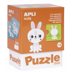 PRZECIWIEŃSTWA puzzle tekturowe duo