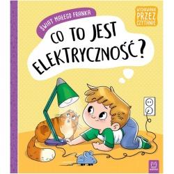 CO TO JEST ELEKTRYCZNOŚĆ? Świat małego Franka książeczka Agata Giełczyńska-Jonik