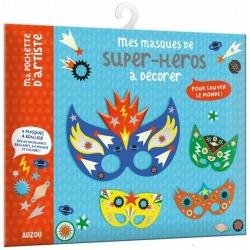 SUPER BOHATEROWIE maski do zdobienia zestaw kreatywny
