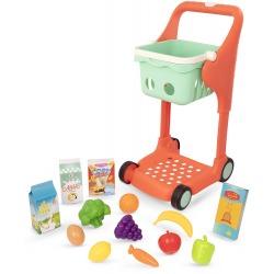 MUZYCZNY WÓZEK ZAKUPOWY z koszykiem i akcesoriami Shop & Glow Toy Cart
