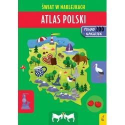 ATLAS POLSKI książeczka z naklejkami