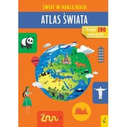 ATLAS ŚWIATA książeczka z naklejkami