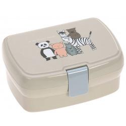 MALI PRZYJACIELE śniadaniówka z wkładką lunchbox About Friends