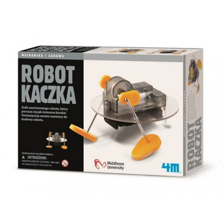 ROBOT KACZKA zestaw kreatywny