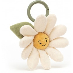 STOKROTKA kwiatek wibrująca zawieszka Fleury Daisy Jitter 14 cm