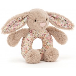 KRÓLICZEK beżowy chwytak Blossom Beige Bunny