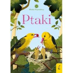 PTAKI Młodzi przyrodnicy książeczka dla dzieci