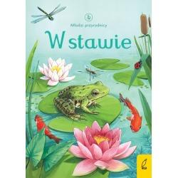 W STAWIE Młodzi przyrodnicy książeczka dla dzieci